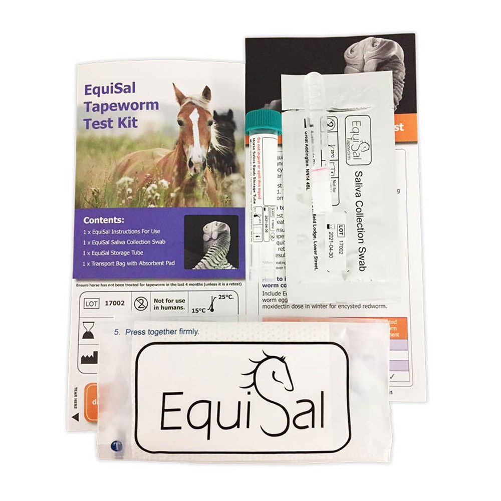 Image of EquiSal Tapeworm Kit - complete