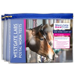 Image of Worm Count Yard Pack for 15 horses