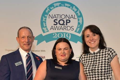 Kristy Hodgson wins National Equine SQP of the Year Award