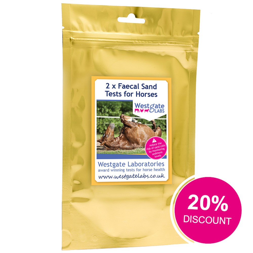 Image of Discontinued retail stock - Horse faecal sand test kit